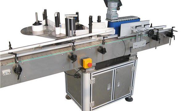 Automatisk mærkat Producent af etiketteringsmaskine med rund flaske