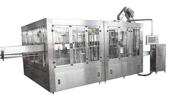 8000BPH automatisk kokosnøddeolie fyldemaskine linje