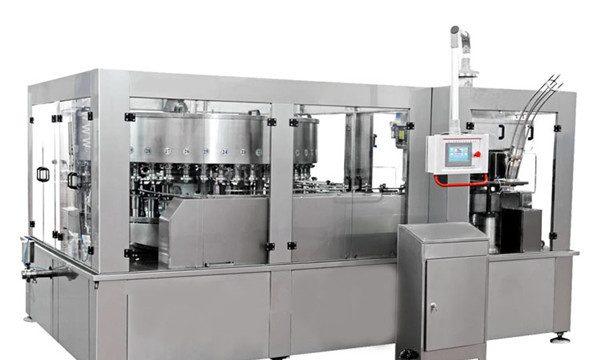 Aluminium kan fyldemaskine til energidrink læskedrik