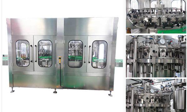 Automatisk ølvodka vinglasflaskepåfyldningsmaskine