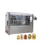 Automatisk glasburk honning fyldende afdækningsmaskine