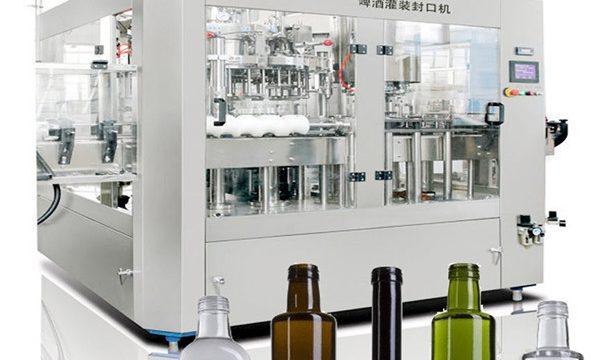 Øl kan flydende fyldemaskine
