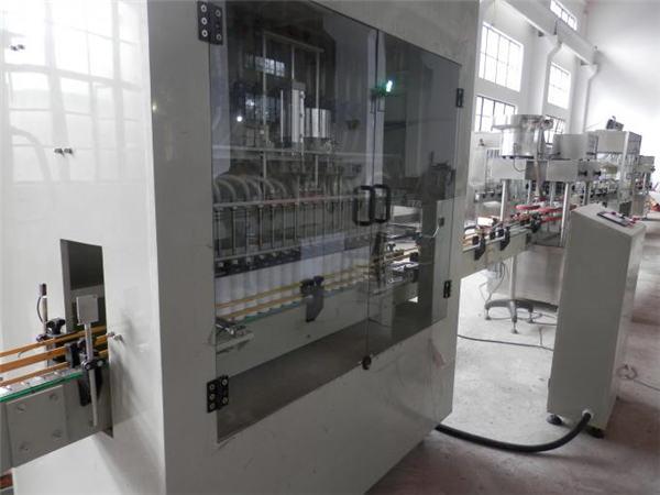 Rustfrit stål fuld automatisk blegemaskinepåfyldningsmaskine