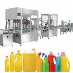 Gravity Bleach Filling Machine, Bleach Filling Produktionslinje