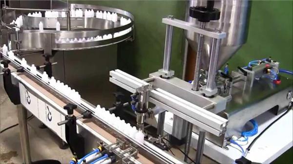 Kemisk automatisk flaskepåfyldningsmaskine