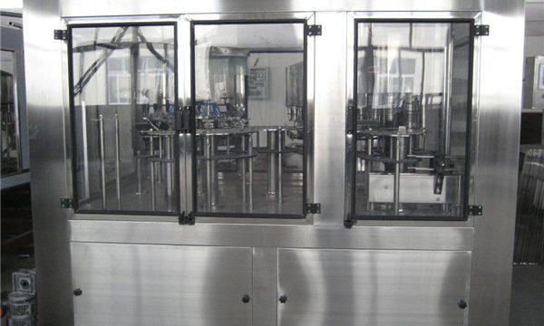 Pneumatisk påfyldningsmaskine Lille flydende påfyldningsmaskine, semi-automatisk påfyldningsmaskine pris