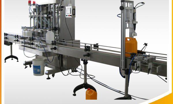 Automatisk smykker renser flydende fyldemaskine