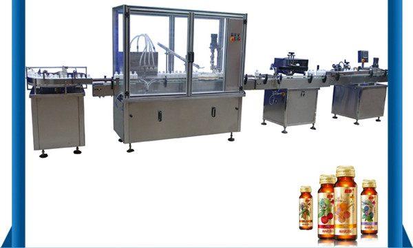 Kina leverandør automatisk honningflaske flydende påfyldningsmaskine