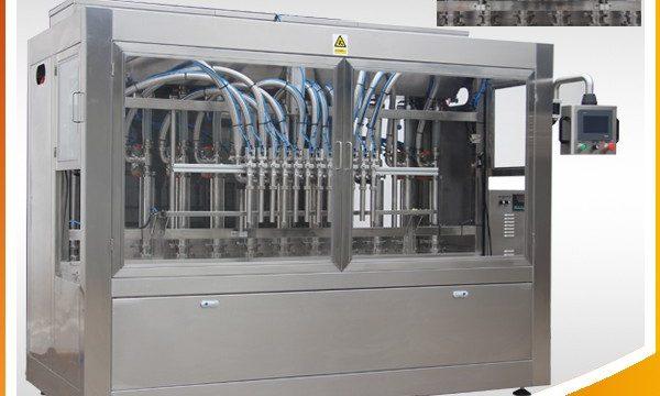 Automatisk kosmetisk parfume flydende flaske påfyldningsmaskine