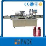 Halvautomatisk Vacuum Liquid Filling Machine Pris lav
