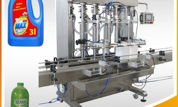 Dobbelthovedet fuldautomatisk flydende påfyldningsmaskine af stempeltypen