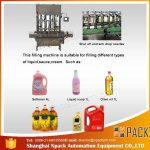 Automatisk 2, 4, 6, 8, 10, 12 hoveder spiselig madoliepåfyldningsmaskine