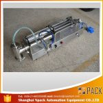Halvautomatisk stempelpåfyldningsmaskine ideel oliepåfyldningsmaskine