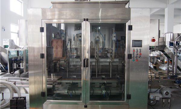 Automatisk fyldemaskine til fødevareolie og pakke til olivenolie