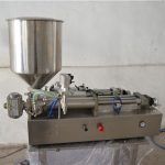Semi-automatisk manuel oliepåfyldningsmaskine kosmetisk