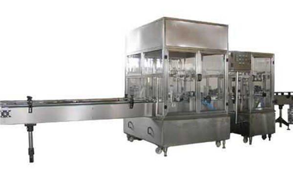 Fuldautomatisk væskeopfyldningsmaskine
