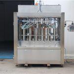 Ren pneumatisk semiautomatisk fyldmaskine med tomatsauce