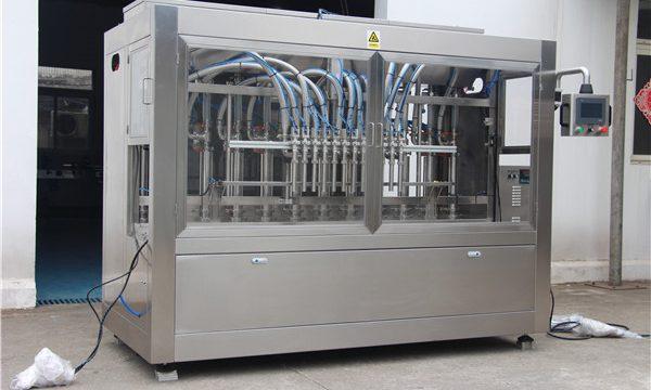 Højhastigheds fuld automatisk oliepåfyldningsmaskine