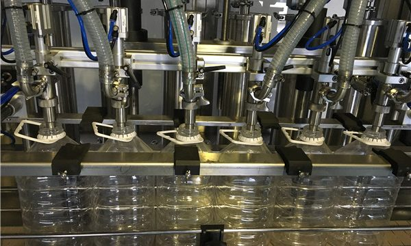 Konkurrencedygtig fabrikspris 5L automatisk fyldemaskine med vegetabilsk olie