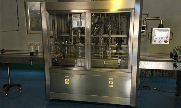 Kina lineær type spiselig olie påfyldningsmaskine