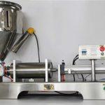 Semi-automatisk blandet frugt syltetøj til fyldemaskine med høj nøjagtighed med CE GMP