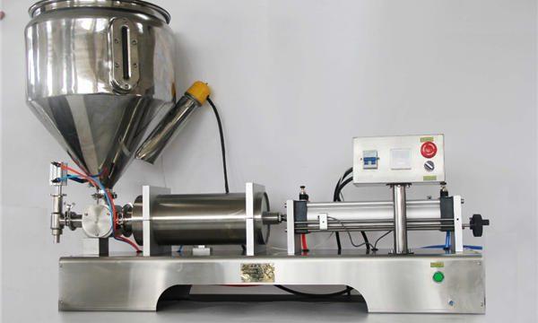 Ren pneumatisk semiautomatisk fyldmaskine med frugtmelade