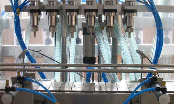 Seks hoved automatisk flydende påfyldningsmaskine