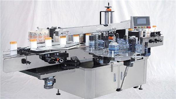 Glas parfume flaske overflade etiket maskine