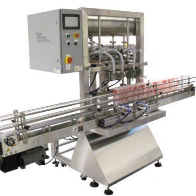 Automatisk påfyldningsmaskine til flaskestempler