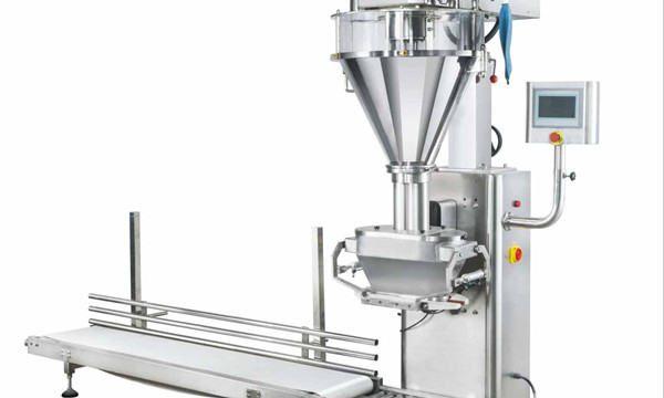 Halvautomatisk Mælkepulverpåfyldningsmaskine