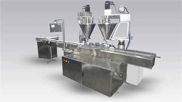 6-hoveds fuldautomatisk kaffefyldning af maskinpulver