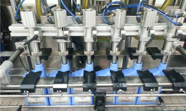 6-Heads automatisk motoroliepåfyldningsmaskine