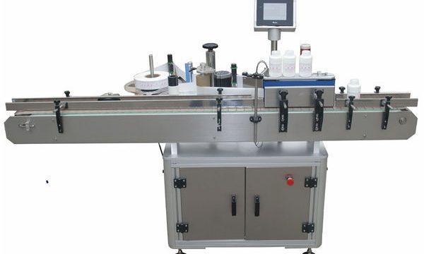 Automatiske dobbeltsider mærkningsmaskine til kæledyrs plastflaske