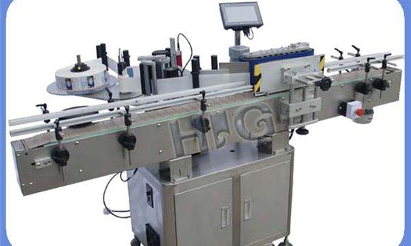 Automatisk NPACK-rundflasermærkningsmaskineproducent med printer