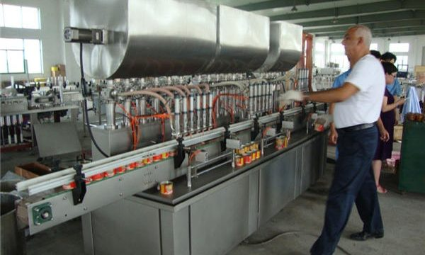 200-1000 ml automatisk sojasaufyldningsmaskine