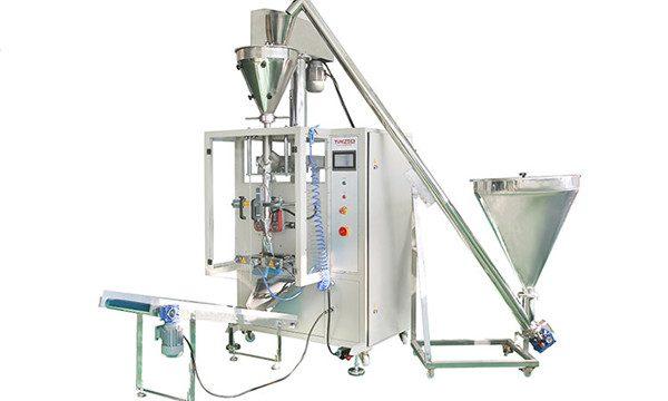 Lodret automatisk pulverpåfyldningsmaskine