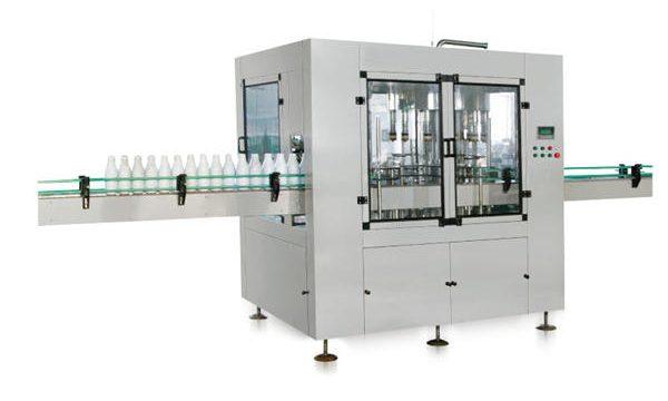 Ottehovedet automatisk lineær stempelfyldemaskine med flydende sæbe