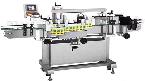 Automatisk dobbeltsidet glasflasermærkningsmaskine