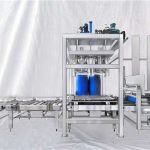Tilpasbar ESDF-serie 100-1000L kapacitet stor tromle automatisk påfyldningsmaskine