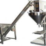 Halvautomatisk pulverfyldstof tørpulverpåfyldningsmaskine
