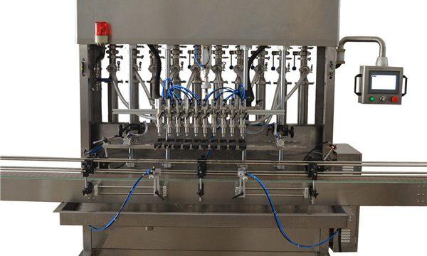 Fuld automatisk fyldemaskine med solsikkefrøolie