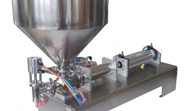 Fabrikspris manuel pneumatisk pastapåfyldningsmaskine