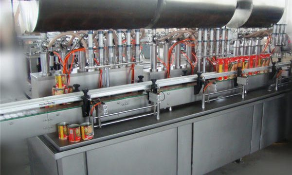 Dobbelthovedet fuldautomatisk Chili Paste Filling Machine