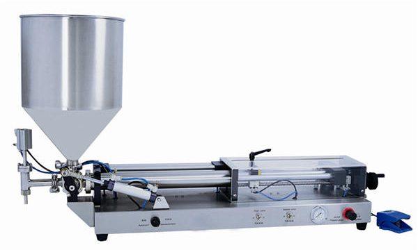 Halvautomatisk pastapåfyldningsmaskine til 3mL-5L