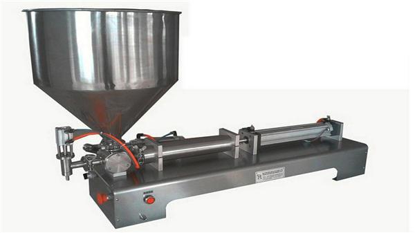 Enkelt hoved semi-automatisk lodret pastapåfyldningsmaskine