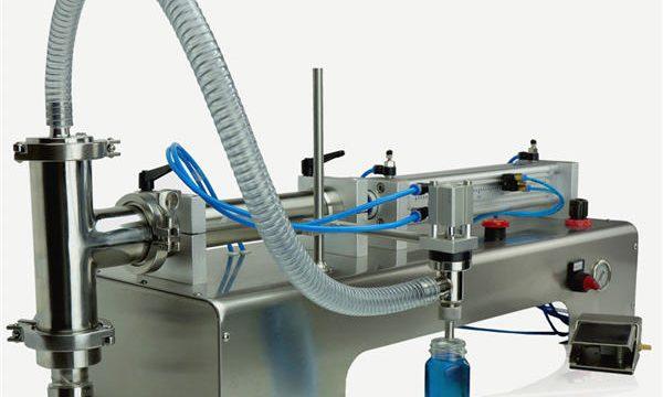 Semi-automatisk stempelfyldemaskine af høj kvalitet Nyt design