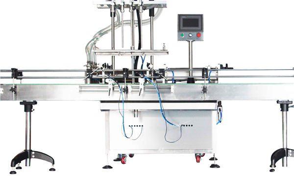 Automatisk 8, 10, 12 hoveder Lotion Stempelfyldemaskine / fyldstof
