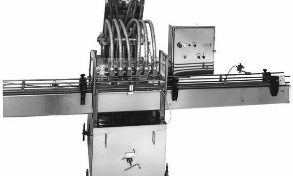 PLC kontrolleret stempel vegetabilsk olie fyldemaskine