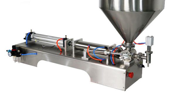 Halvautomatisk stempeltykkelsåsefyldemaskine