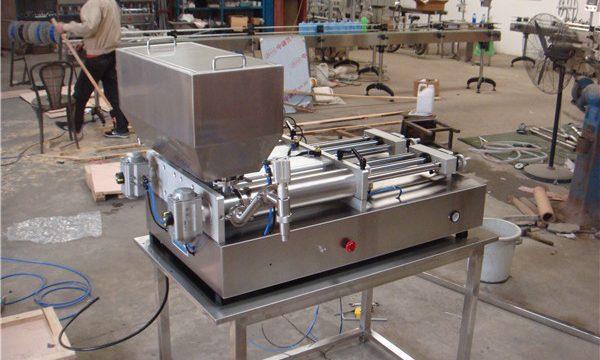 Den billigste pneumatiske semi-automatiske fyldemaskine med papirstop